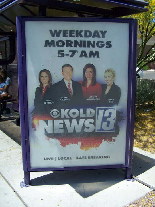 My first show promo at KOLD-TV in Tucson.